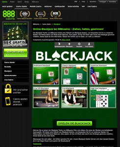 Blackjack Angebot