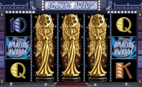 Bonus Spiel im Amazing Awards Automatenspiel