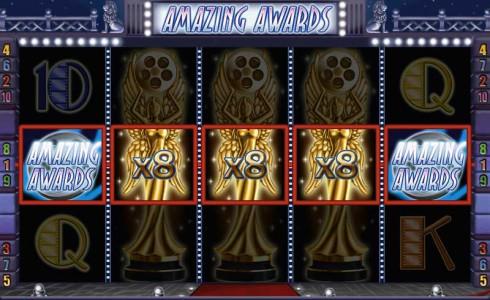Gewinn im Spielautomaten Amazing Awards