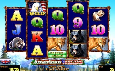 Das Novoline Spiel American Wilds