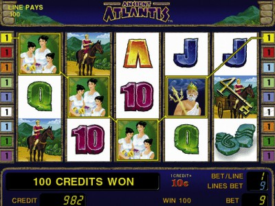 Gewinn in Ancient Atlantis