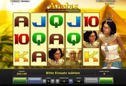 Jetzt anmelden und Anubix kostenlos spielen