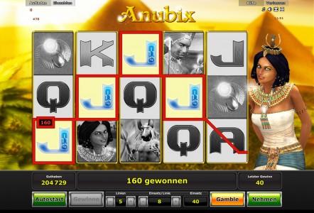 Ein weiterer toller Gewinn in Anubix