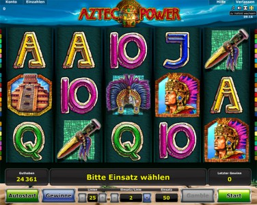 Stargames Spiel Aztec Power