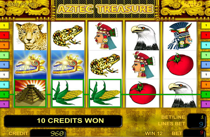 Aztec Treasure Novoline
