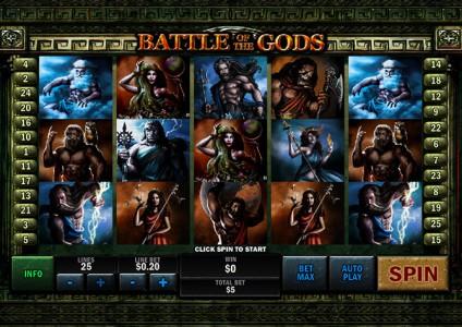 Melde Dich jetzt an und spiele Battle of the Gods