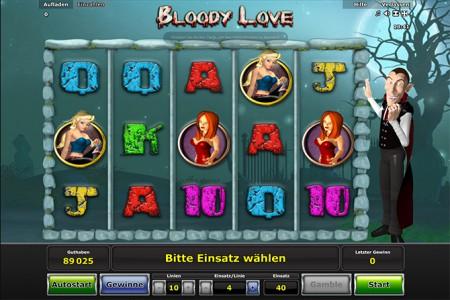 Melde Dich jetzt bei Stargames an und spiele Bloody Love