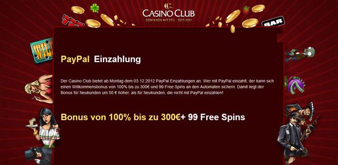 Casino Club Freispiele
