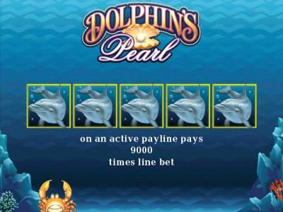 Gewinnsymbol des Klassikers Dolphins Pearl