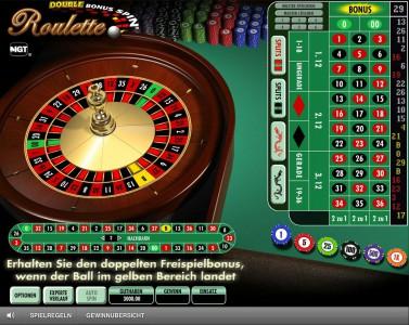 Double Bonus Spin Roulette im Mr Green Casino spielen