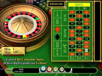 Double Bonus Spin Roulette von IGT