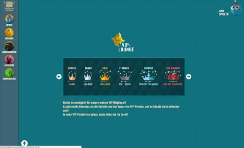 Die VIP Lounge für besondere Spieler