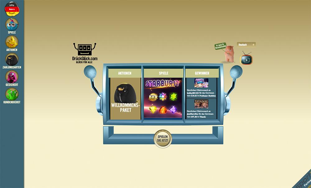 Online Casino Drückglück