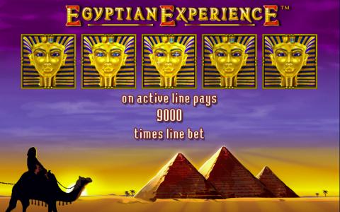 Gewinnsymbole in Egyptian Experience