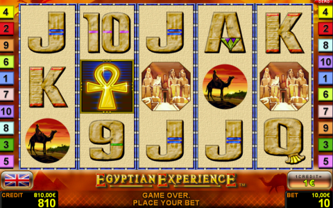 Novolines Spielautomat Egyptian Experience