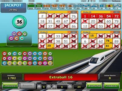 Express Bonus - Extra Ball 16