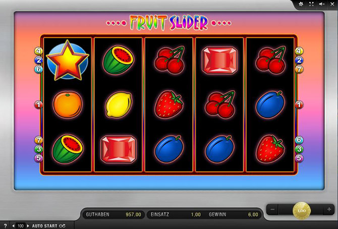 Spiele Fruit Slider - Video Slots Online