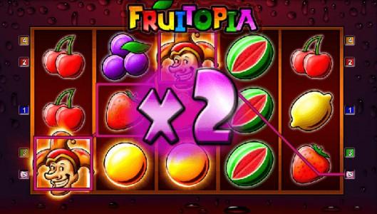 Alle Gewinne mal 2 im Merkur Spiel Fruitopia von Sunmaker
