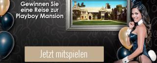 Gewinne eine Reise zur Playboy Mansion