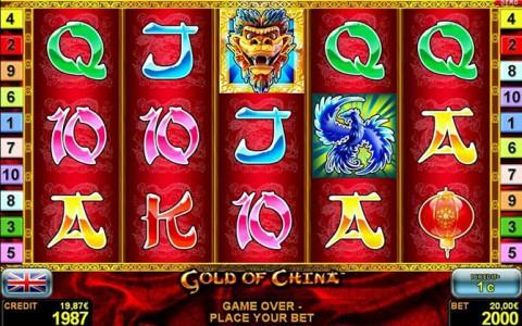 Jetzt anmelden und Gold of China von Novoline bei Stargames spielen