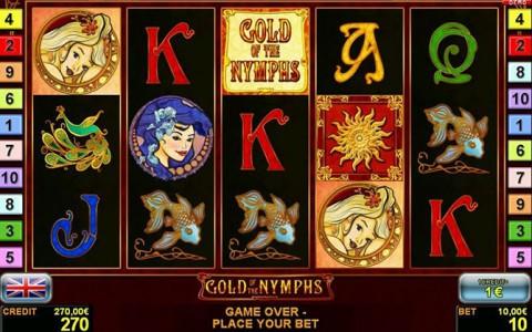Bei Stargames Gold of the Nymphs spielen