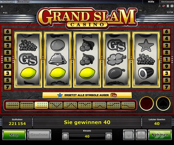 Zitronen als Gewinnsymbolkombination in Grand Slam Casino