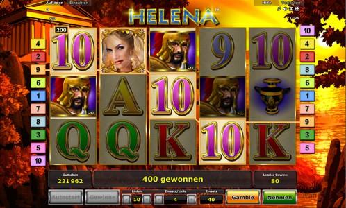 Big Win im Helena Spielautomaten