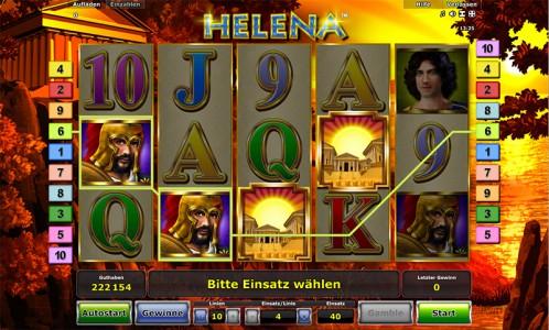 Der Novoline Spielautomat Helena