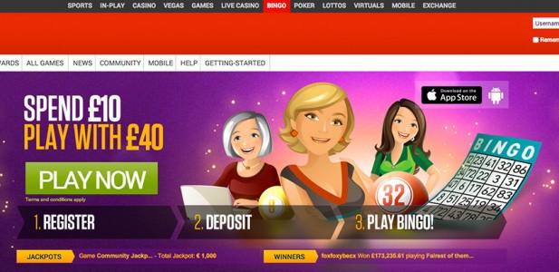 Bingo spielen bei Ladbrokes