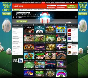Übersicht der Casino Spiele