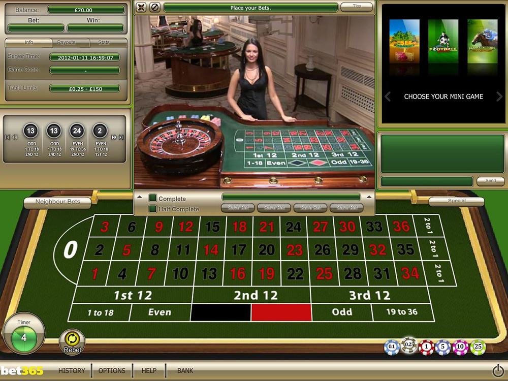 Is bet365 live roulette rigged