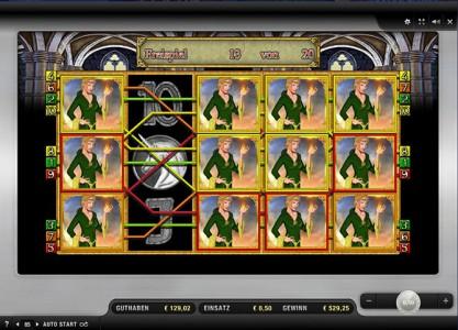 Freispiel 3 von 20 im Merkur Spiel Magic Mirror Deluxe II