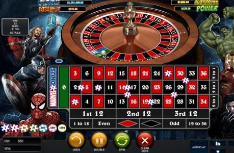 Jetzt spielen - Marvel Roulette