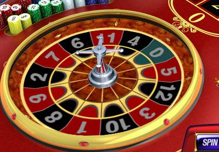 Der Roulettekessel im Mini Roulette