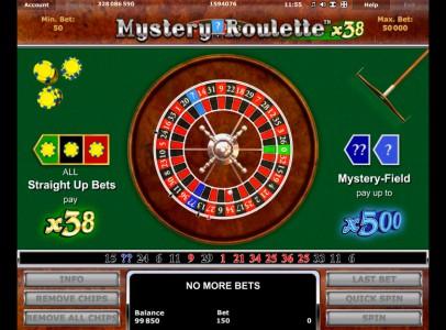Bei Stargames Mystery Roulette x38 spielen