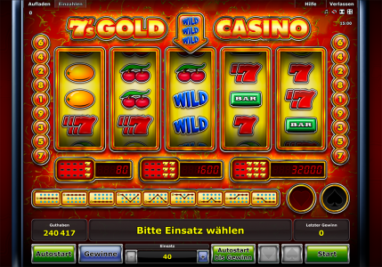 Neu: 7's Gold Casino Slot mit 5 Walzen