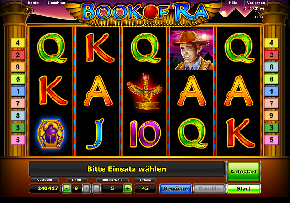 casino online test book of ra 5 bücher