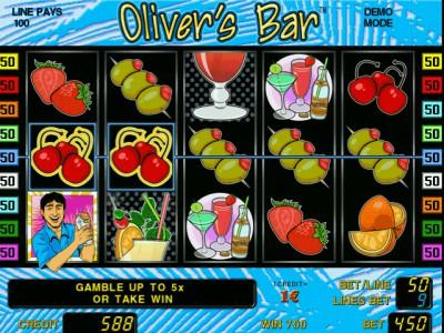 Olivers Bar Gewinn im Novoline Spiel