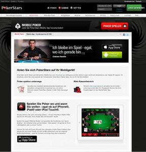 Immer und überall Poker spielen dann der PokerStars App