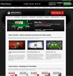 PokerStars.de bietet eine umfangreiche Pokerhilfe für Neulinge an