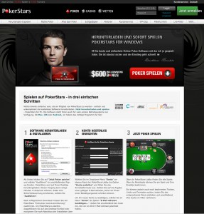 Herunterladen der PokerStars Software