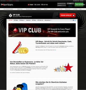 V.I.P. Club von PokerStars