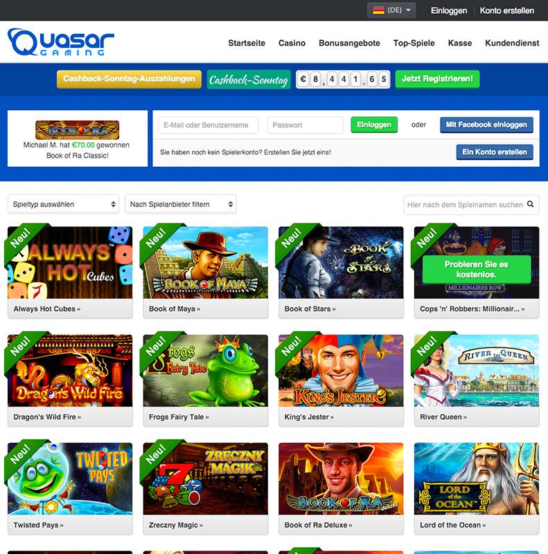 deutsche online casino sekiten