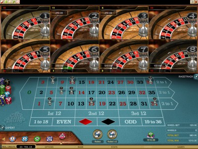 Racetrack Roulette im Casino Club