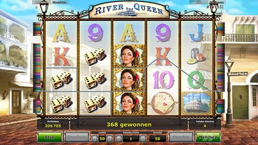 Bei Stargames River Queen spielen