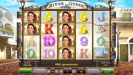 Dank der River Queen tolle Gewinne