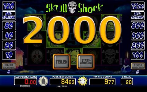 Spiele Skull Shock - Video Slots Online