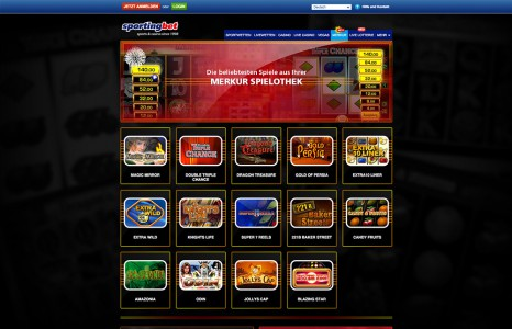 Spiele die beliebtesten Merkur Spiele im Sportingbet Casino