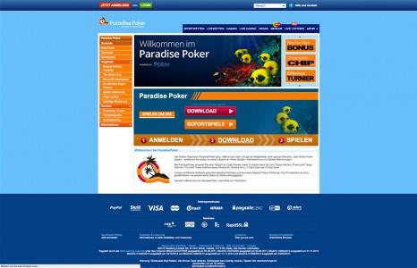 Poker spielen beim Anbieter