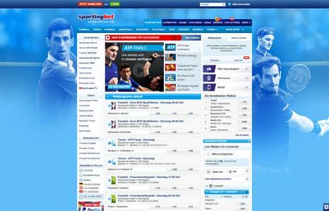 Sportwetten Angebot vom Sportingbet Casino